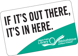 Image of Ottawa Public Library card