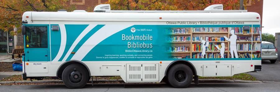 photo of the bookmobile