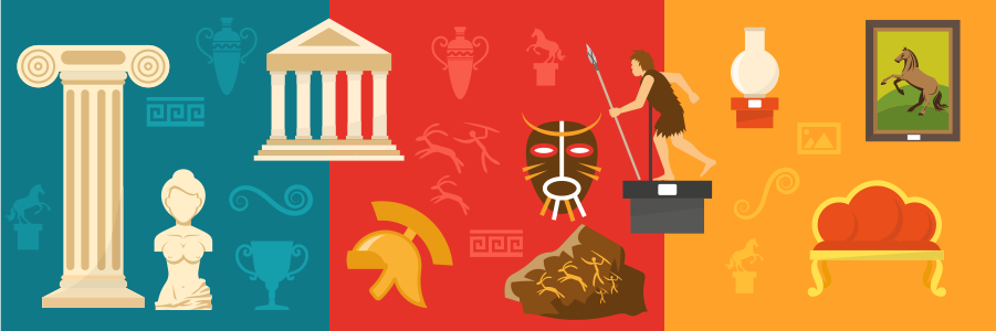 Web banner for history subject