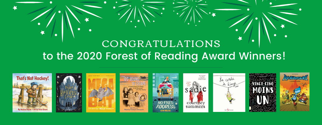 Forest of Reading Winners Banner