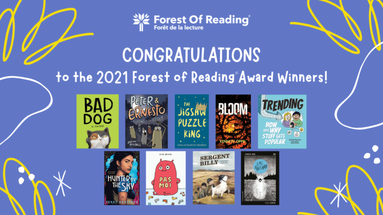 Forest of Reading Winners 2021