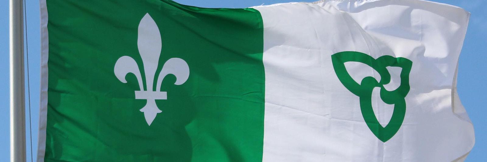 Drapeau Franco Ontarian Flag