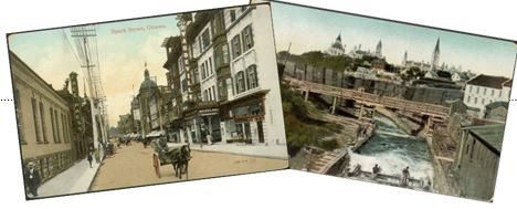 old postcard images of ottawa