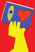 Illustration: Hand holding book / Main tenant un livre