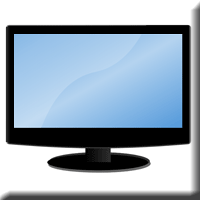 Image of a widescreen monitor