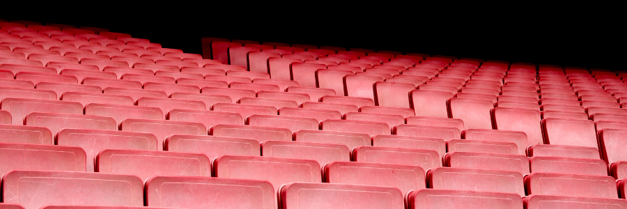 theater with empty seats