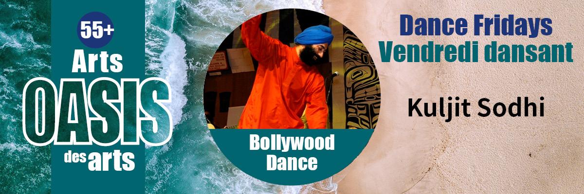 arts oasis des arts dance fridays vendredi dansant kuljit sodhi