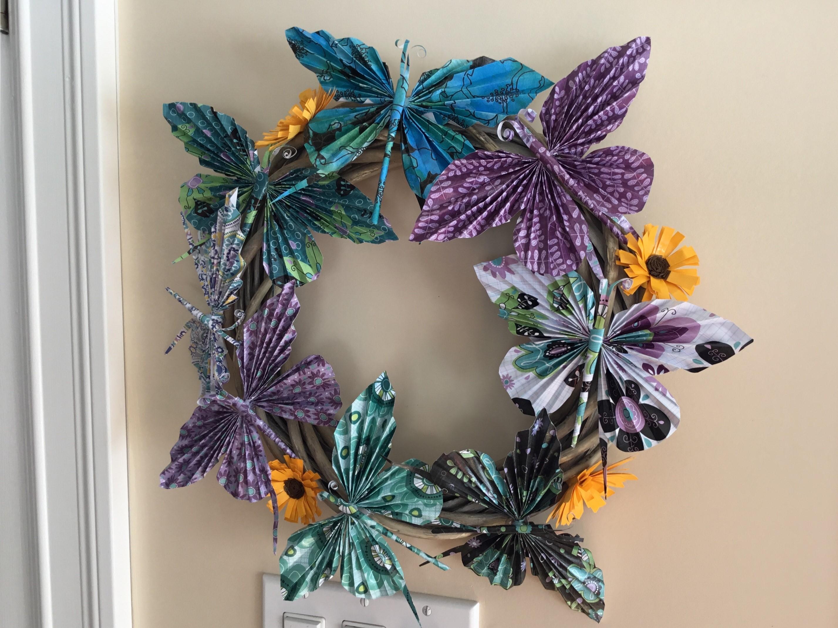 Recycle Paper Butterflies