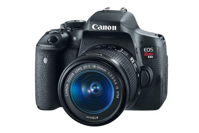 Canon EOS Rebel T6i SLR Camera