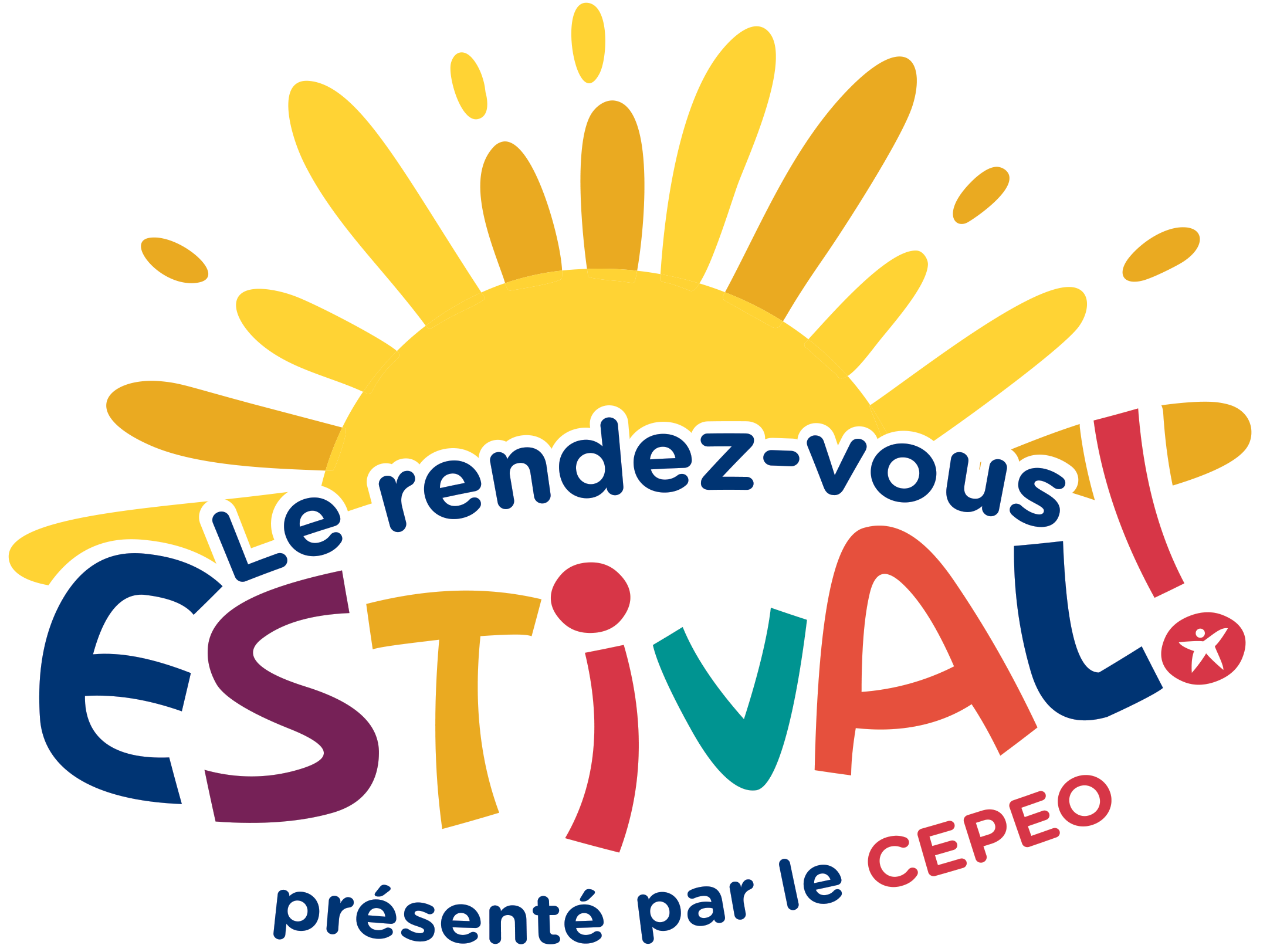 Logo Le rendez-vous estival! présenté par le CEPEO