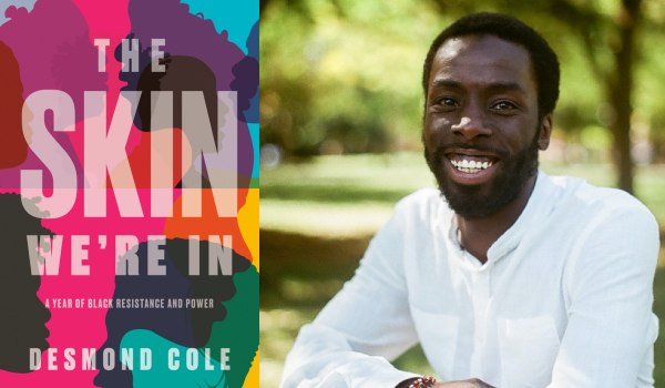 Book cover and official photo of Desmond Cole