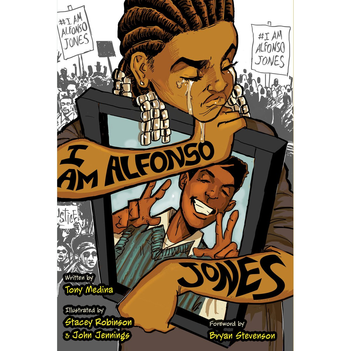 Book cover for I Am Alfonso Jones