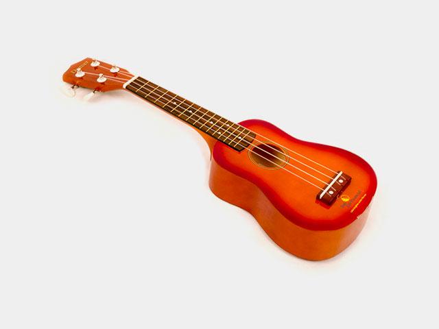 Photo of a soprano ukulele