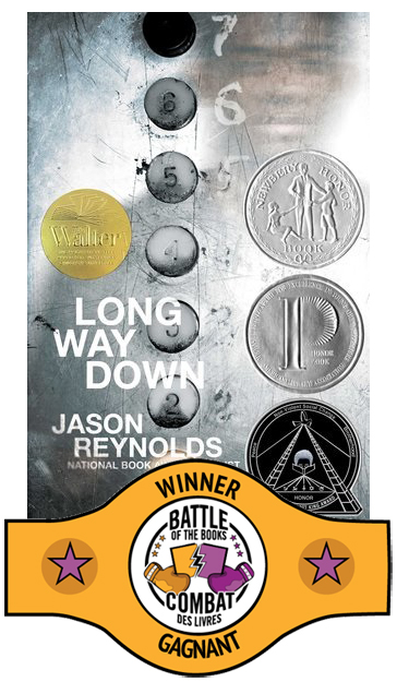 Book cover for Long Way Down