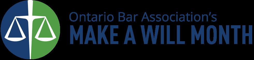 Make a Will Month logo