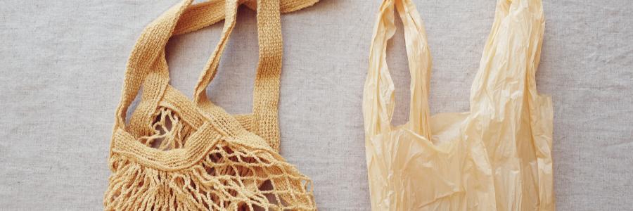 Plastic bag and material bag