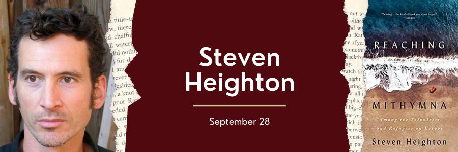Steven Heighton Web Banner