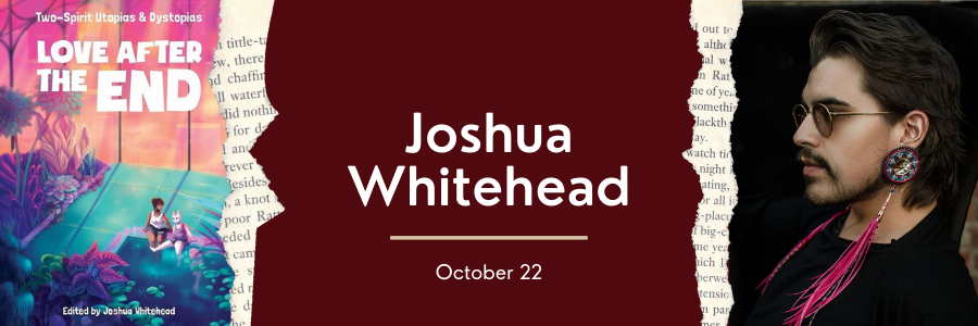 Web Banner for Joshua Whitehead