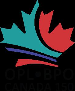 Ottawa Public Library Canada 150 Logo