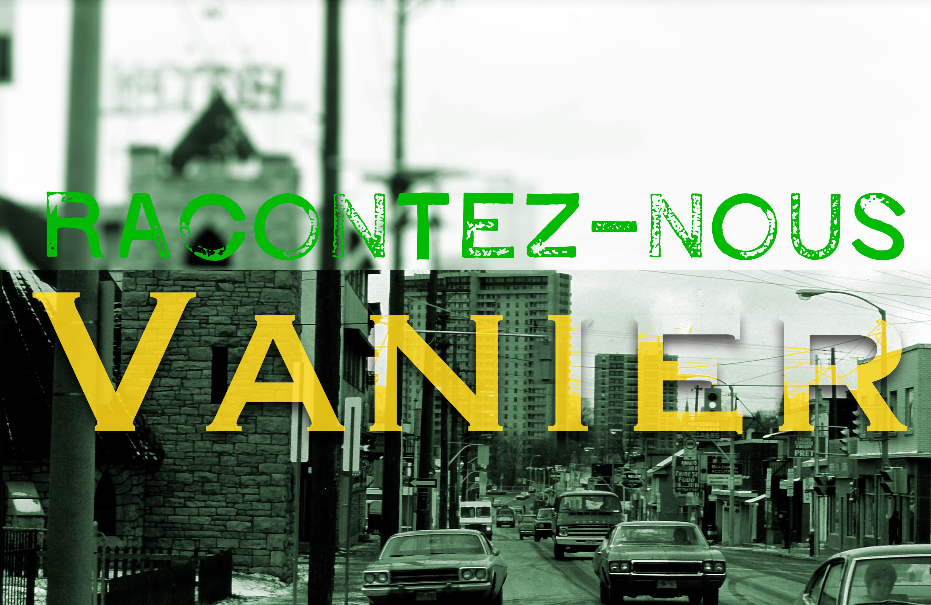 Concours d'écriture Racontez-nous Vanier