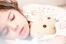 Photo of child sleeping