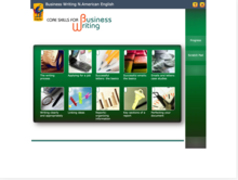 Homepage for Business Writing