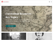Homepage for Canadian Encyclopedia