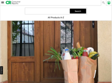 Homepage for Consumer Reports
