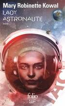 Jacket cover: Lady astronaute