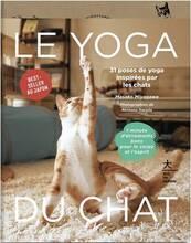 Jacket cover: Yoga Du Chat (Le)