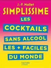 Jacket cover: Les cocktails sans alcool les + faciles du monde