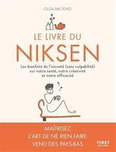Jacket cover: Le livre du niksen : les bienfaits de l'oisiveté (sans culpabilité) sur notre santé, notre créativité et notre efficacité