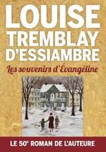 Jacket cover: Les souvenirs d'Évangéline
