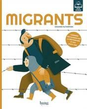 Jacket cover: Migrants