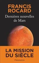 Jacket cover: Dernières nouvelles de Mars