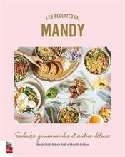 Jacket cover: Les recettes de Mandy : salades gourmandes et autres délices