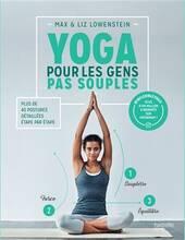 Jacket cover: Yoga pour les gens pas souples