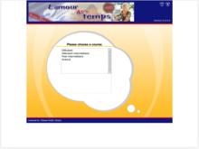 Homepage for L'amour des temps