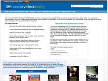 Homepage for Naxos Video Library