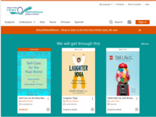 Homepage of Overdrive