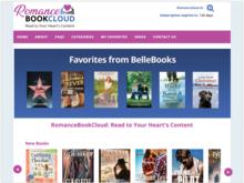 Homepage for RomanceBookCloud