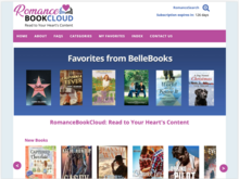Homepage for RomanceBookCloud