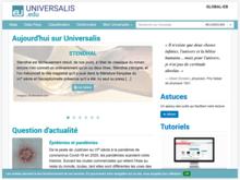 Homepage of Encyclopædia Universalis
