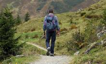 Photo of hiker