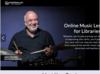 Homepage of ArtistWorks
