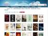 Homepage of Audiobook Cloud