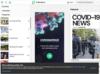 Homepage for PressReader
