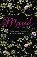 cover image of Maud, leafy vines and white flowers on a black background