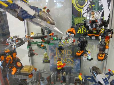 LEGO Agents Display