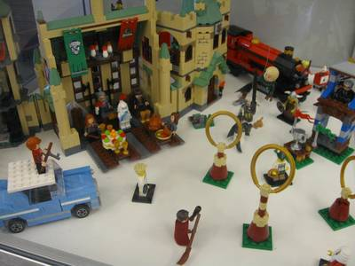 LEGO Harry Potter display